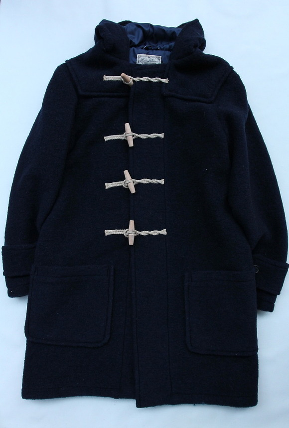 H F and Weaver Marine Coat NAVY