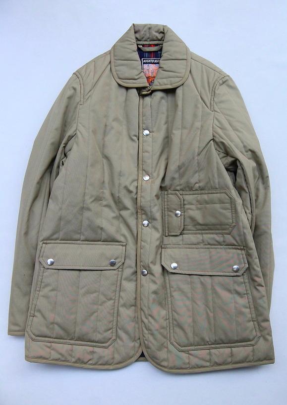 Mighty Mac Quilt Jacket BEIGE