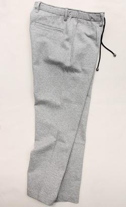 Arbre Continental Island Cotton 1P Easy Pants GREY (5)