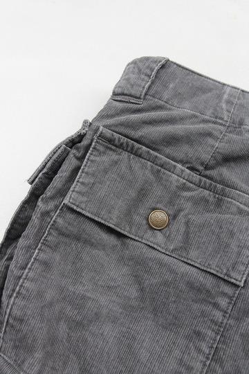 ARAN MCP Shorts CORD GREY (3)