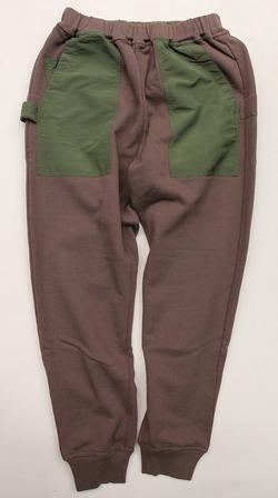 Chums Utility Pocket Pants Sweat KHAKI (4)
