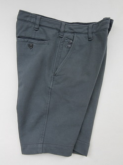 Perfection Cotton Pique Shorts MID GREY (6)