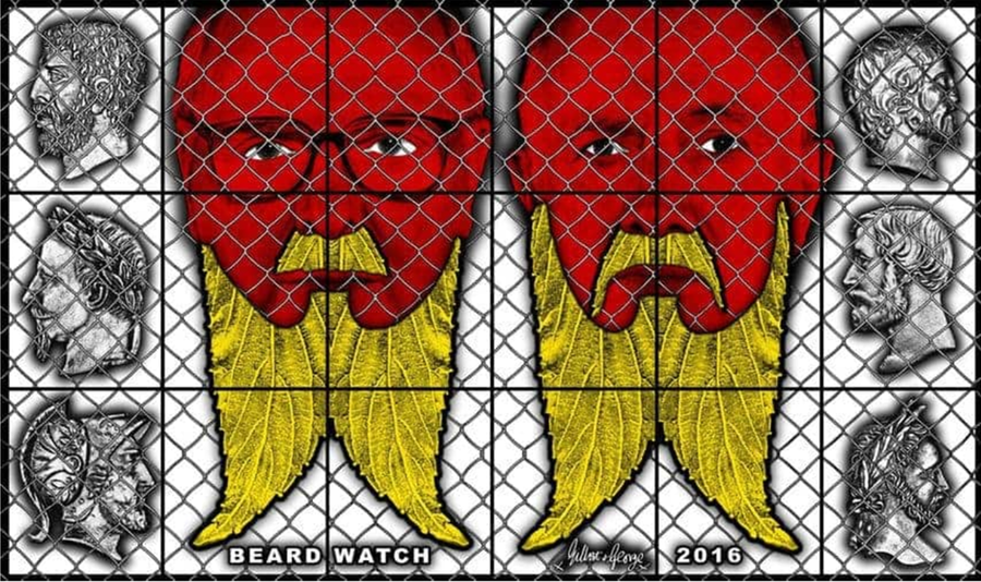 Gilbert & George Brd Watch, 2016