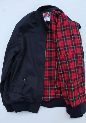 Uniform World Harrington Jacket NAVY (5)