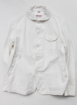 Ouvert RC Work Jacket WHITE