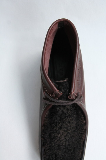 HTS Upper Sheep Skin Wallabee D BROWN (9)