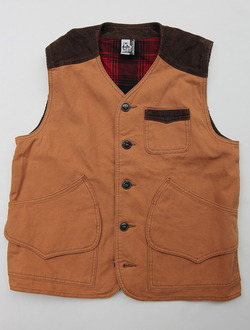 Chums Hurricane Work Vest CAMEL