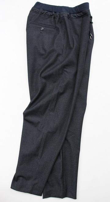 Le Ciel de Harriss T Rayon Tuck Easy Pants NAVY (6)