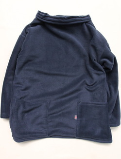NEWLYN Smock Fleece NAVY