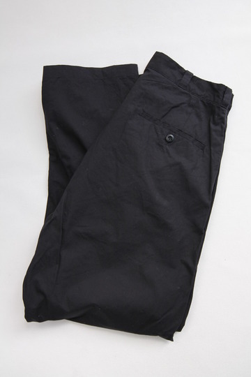 RICEMAN Tapered Pants BLACK (3)