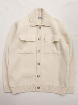 KILKEEL Knited Jacket WHITE (2)