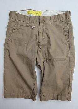 NOUN Zip Shorts KHAKI