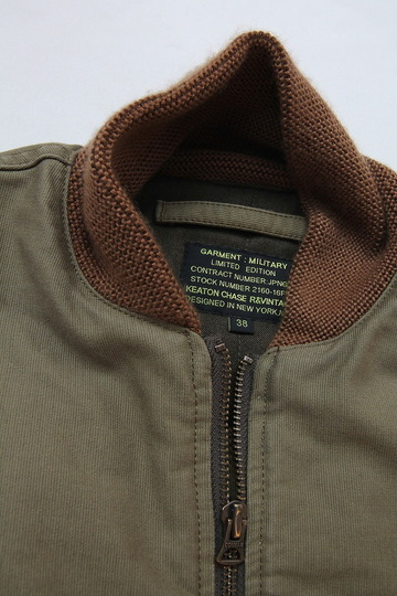 Keaton Chase Military Deck Vest Bedford Cloth OLIVE (2)