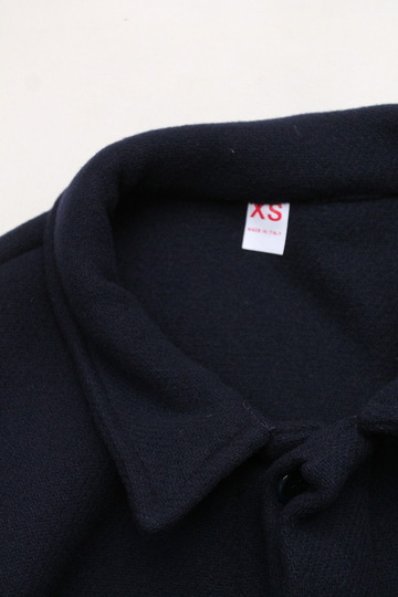 MADE IN ITALY Wool & Cashmere Work Jacket NAVY (3)
