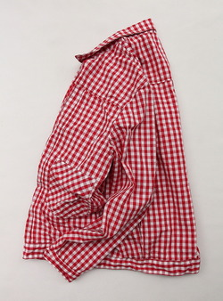 NOUN Summer Stores Gingham RED Check (4)