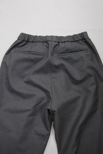 CASTERS Summer Wool 2Pleats Trousers LITE GREY (4)