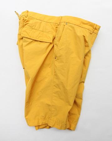MIDA Nylon Shorts with Liner YELLOW (4)