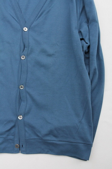 Bandol Interlock V Cardigan BLUE (5)