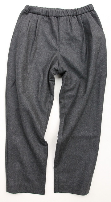 CESTERS 2 P Easy Wool Trousers by Burel CHARCOAL (5)