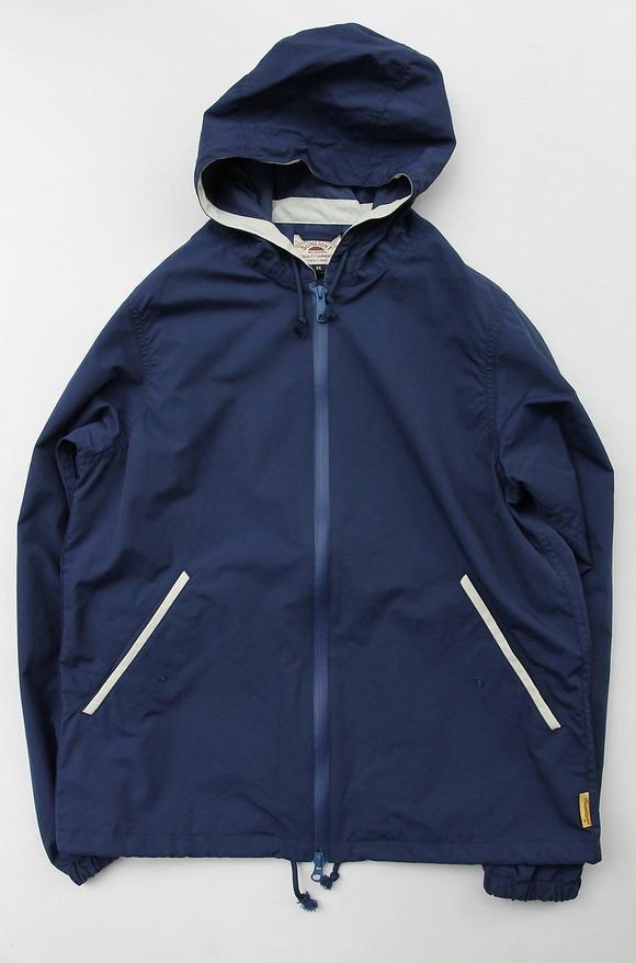 Sunlight Believer Packable Nylon Hooded Parka NAVY BLUE (2)