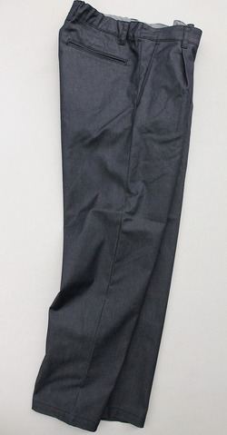 Harriss Stetch TC Denim 1 Tapered Pants NAVY (6)