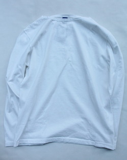 Goodon LS Boatneck Tee WHITE