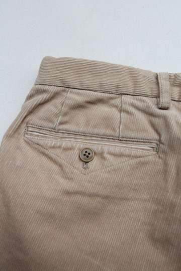 DC WHITE Corduroy Basic Pants BEIGE (3)
