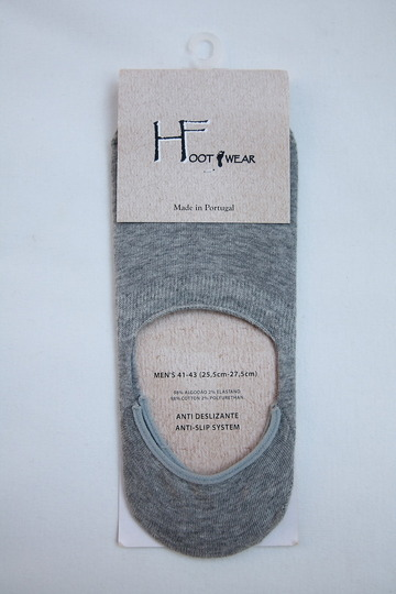 H Footwear Coverd Socks GREY