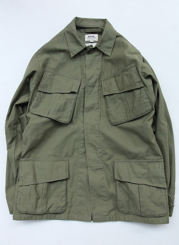 KIFFE Jangle Fatigue Jacket OLIVE