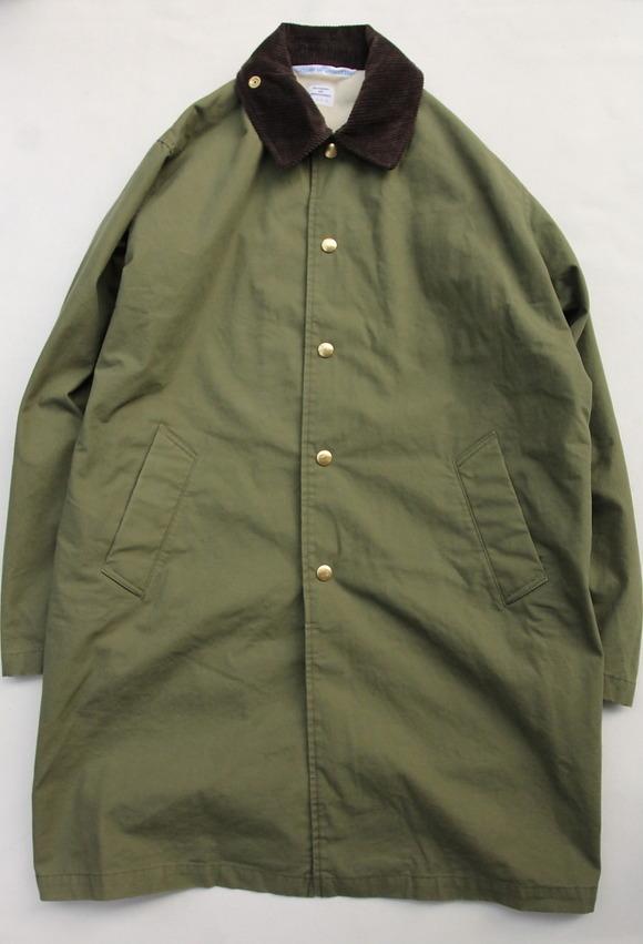 NOUN Coach Coat OLIVE