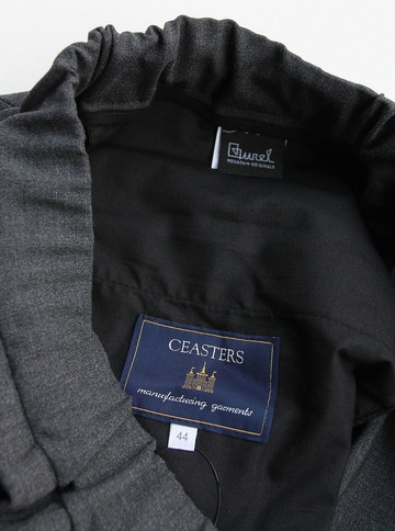 CESTERS No Pleats Easy Trousers GREY (2)