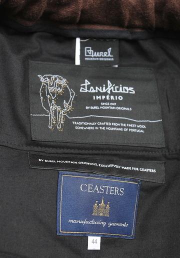 CEASTERS 2 Pleats Easy Trousers BROWN  by Burel (2)