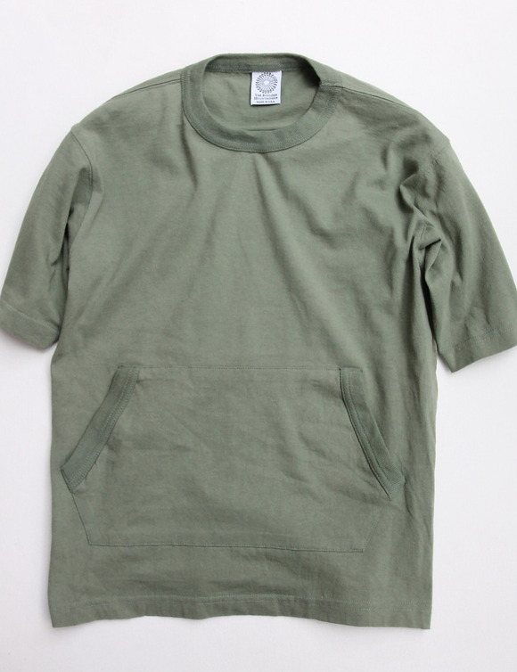 The Boulder Mountaineer Pocket Tee OLIVE