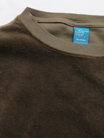 Goodon LS Velour Pocket OLIVE (2)