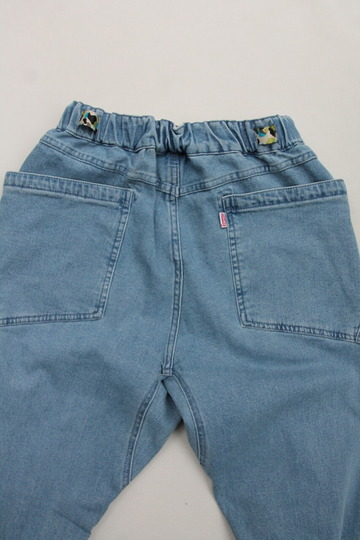 Chums Stretch  Camping Denim Pants  LIGHT INDIGO (4)