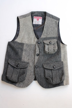 Keaton Chase Remake Harris Tweed Hunting Vest