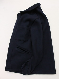 MADE IN ITALY Wool & Cashmere Work Jacket NAVY (5)