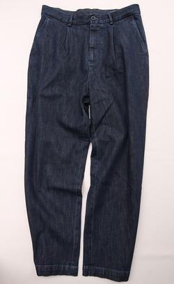 RM Mens Tuck Trouser INDIGO (3)