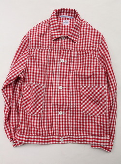 NOUN Summer Stores Gingham RED Check