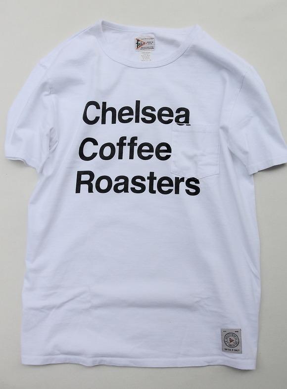 Felco SS Crew Print Tee Chelsea WHITE