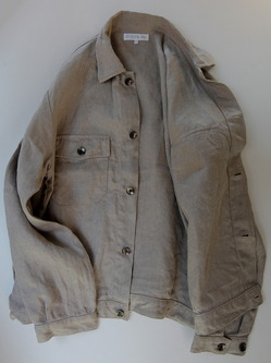 RICEMAN Work Shirt Jacket OATMEAL (2)