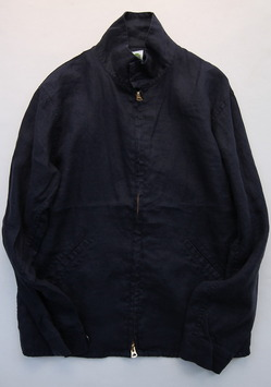 Arbre Linnen Zip Jacket NAVY