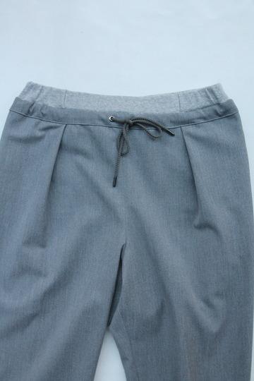 Le Ciel de Harriss T Rayon Tuck Easy Pants GREY (3)