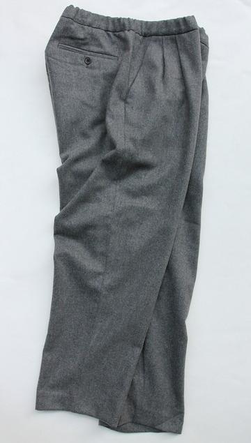 CESTERS Wool 2 P Easy Pants M GREY (6)