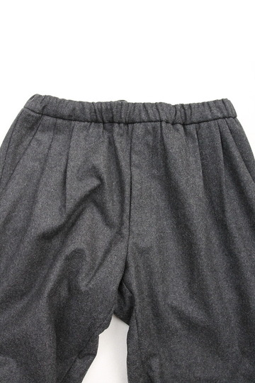 CESTERS 2 P Easy Wool Trousers by Burel CHARCOAL (3)