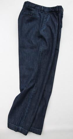 RM Mens Tuck Trouser INDIGO (6)