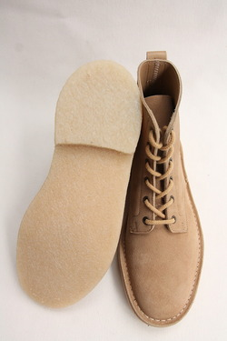 Suffolk Shoes Desert Hi Top SAND Suede (7)
