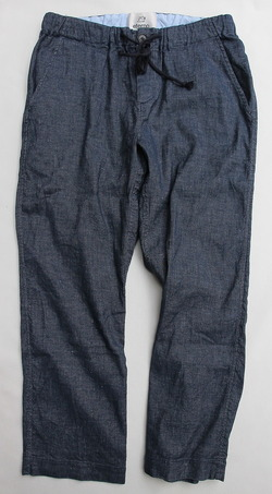 eterno Linen Easy Pants BLUE (4)