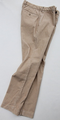 DC WHITE Corduroy Basic Pants BEIGE (7)
