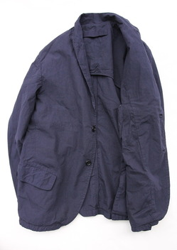 Vasy Lettlement Side Vents Tailored Jacket MIDNIGHT (5)